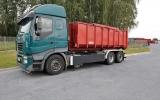 SPECJALISTYCZNE USŁUGI TRANSPORTOWE - przewóz odpadów III kategorii oraz produktów utylizacji.